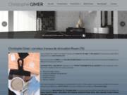 screenshot http://www.gimer-carrelage.fr carreleur