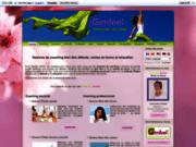 screenshot http://www.gimfeel.com Coaching à domicile de séance bien être détente et remise en forme