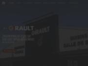screenshot http://www.girault-ebeniste.com ebéniste girault