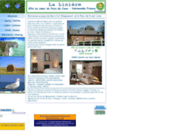 screenshot http://www.gite-la-liniere.com gite normand de charme, spacieux