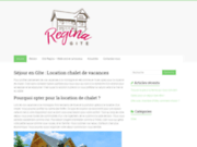 Séjour en Gîte : Location chalet de vacances