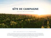 screenshot http://www.gites-de-campagne.com gite languedoc