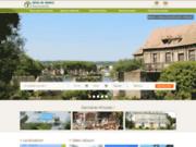 screenshot http://www.gites-de-france-normandie.com séjours en Basse et Haute Normandie en gîtes et chambres d'hôtes