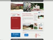 screenshot http://www.gites-les-cottages.fr/ gîtes de bretagne à lamballe