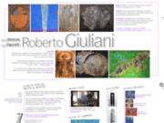 screenshot http://www.giuliani-art.ch roberto giuliani, artiste peintre, art abstrait, art contemporain