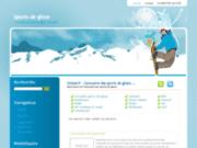 screenshot http://www.glisser.fr/ annuaire des sports de glisse