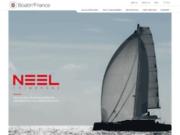 screenshot http://www.globe-skipper.com service de skippers professionnels, convoyage