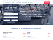 screenshot http://www.globesailor.fr location de bateaux