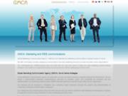 screenshot http://www.gm-communication-agency.com/fr.html gmca, agence de communication web à l'international