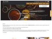 screenshot http://www.goa-clermont.com a 100 m de la place gaillard, un restaurant indien qui sent bon le dépaysement