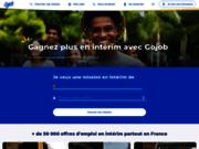 Gojob l'Agence d'intérim en ligne
