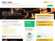 screenshot http://www.goldbygold.com/ achat or