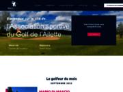 screenshot http://www.golfdelailette.com golf de l'ailette