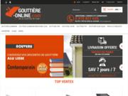 screenshot http://www.gouttiere-online.com gouttiere online