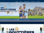 screenshot http://www.gouttieres5etoiles.com Gouttières 5 Étoiles