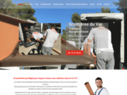 screenshot https://gouttieresduvar.com/ Fabrication de Gouttière