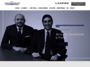 screenshot http://www.gozlanparlanti-avocats.com/ avocat droit des sociétés paris, restructuration