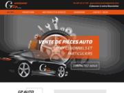 screenshot http://www.gpauto-narbonne.com pièces auto à Narbonne