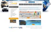 screenshot http://www.gpsalacarte.fr/ gps à la carte, géolocalisation pour flotte de véhicule