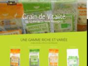 screenshot http://www.graindevitalite.com les légumes secs