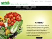screenshot http://www.graines-girerd.com www.Graines-Girerd.com