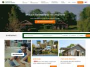 screenshot http://www.grand-bois.eu domaine du grand bois - location de vacances à la campagne en bourgogne.