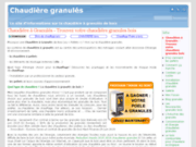 screenshot http://www.granulaugil.com chaudière a granulés