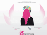 screenshot http://www.graphikhome.fr graphik'home - graphiste freelance paris