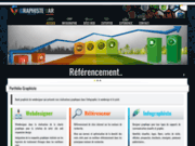 screenshot http://www.graphistevar.fr graphiste web, portfolio webmaster, createur de site web