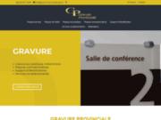 screenshot http://gravure-provinciale.qc.ca/ gravure provinciale inc.
