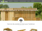 Green Park, spécialiste de la fabrication de produits en bois