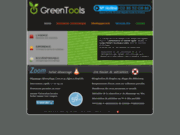 screenshot http://www.greentools.fr Dépannage informatique Caen