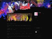 screenshot http://gregaria.fr Orchestre Greg ARIA pour toutes vos festivités
