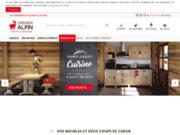 Grenier Alpin : spécialiste du meuble en bois et de la déco montagne