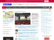 screenshot http://www.grenoble-ecobiz.biz/ communauté d'entreprises à grenoble