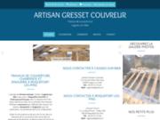 Site de Gresset couvreur charpentier