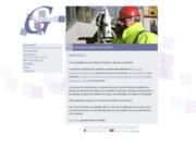 screenshot http://www.grillet.be grillet.gei: mesurages, évaluations, expertises