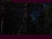 screenshot https://www.grimpinforest.fr parc aventure serre sur la chevalier vallée