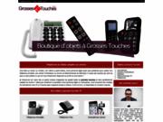 screenshot http://www.grosses-touches.com téléphone senior