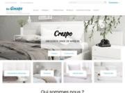screenshot http://www.grossiste-crespo.com grossiste distributeur linge de maison pour collectivités et hôtellerie