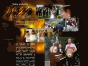 screenshot http://www.groupe-de-jazz.com orchestre de jazz à domicile: jazz a do