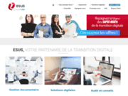 screenshot http://www.groupe-esus.fr information