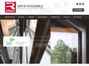 screenshot http://www.groupe-ridoret.com/ groupe ridoret - menuiserie bois, pvc, aluminium
