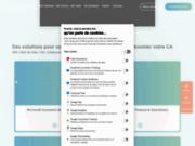 screenshot http://www.groupediagonal.com groupe diagonal' : intégrateur erp microsoft, expert cegid et distributeur navision