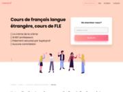 screenshot http://www.groupement-fle.fr/ fle : français langue étrangère