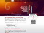 screenshot http://www.grzybowski.fr chef de projet multimédia grzybowski nicolas