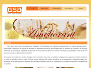 screenshot http://www.gsa.com.tn améliorants alimentaires,  panification