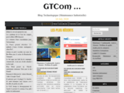 screenshot http://www.gtcom.fr une équipe française pour votre site web