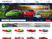 screenshot http://www.gtdrive.com Stage de pilotage automobile