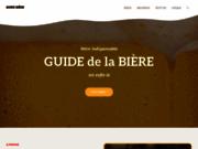 screenshot http://www.guide-biere.fr guide de la bière
